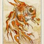 彷徨蛙物語-赤金魚