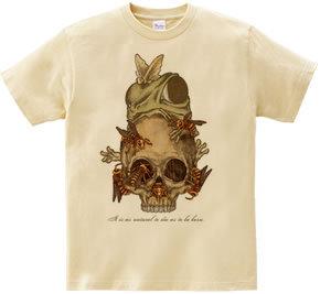 オリジナルイラスト ガイコツ Tシャツ アイフォンケース
