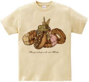 蛙 カエル レトロ オリジナルイラスト Tシャツ デザイン